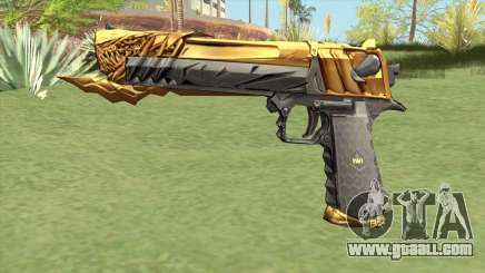 Desert Eagle (Born Beast Noble Gold) for GTA San Andreas