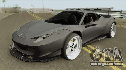 Ferrari 458 (LB-WALK) for GTA San Andreas