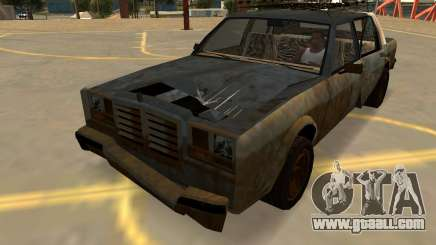 Schyster Greenwood Rusty (Badges-PJ-Extras) for GTA San Andreas