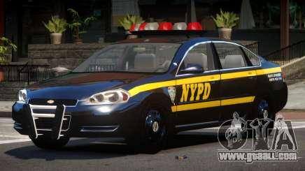 Chevrolet Impala LS Police for GTA 4