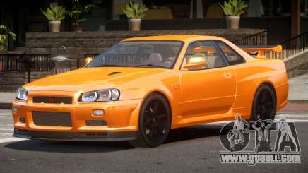 Nissan Skyline R34 L-Tuned for GTA 4