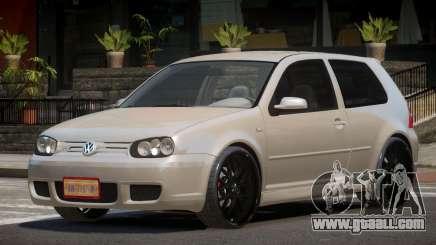 Volkswagen Golf IV RS for GTA 4