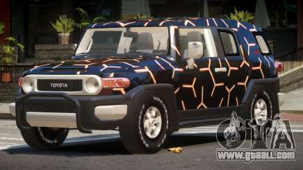 Toyota FJ Cruiser ST PJ3 for GTA 4