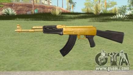 AK-47 (Gold) for GTA San Andreas