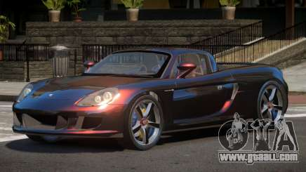 Porsche Carrera GT V1.2 for GTA 4
