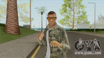 Kylian Mbappe for GTA San Andreas