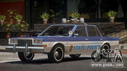 Dodge Diplomat Police V1.3 for GTA 4