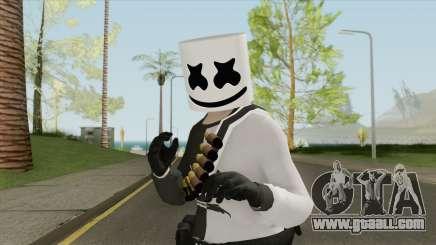 Marshmello V2 (GTA Online) for GTA San Andreas