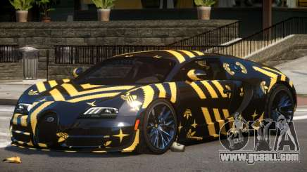 Bugatti Veyron SS PJ3 for GTA 4