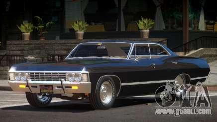1969 Chevrolet Impala V1.0 for GTA 4
