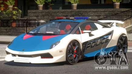 Lamborghini SE Police V1.4 for GTA 4