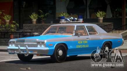 1975 Dodge Monaco Police V1.3 for GTA 4