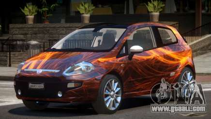 Fiat Punto RS PJ1 for GTA 4