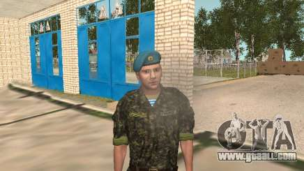 Fedor Dobronravov in the form of airborne for GTA San Andreas