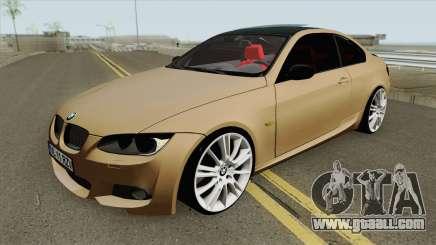 BMW E92 335D M-Tech 2010 for GTA San Andreas