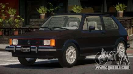 Volkswagen Rabbit V1.0 for GTA 4