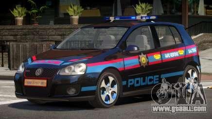 Volkswagen Golf V Police for GTA 4