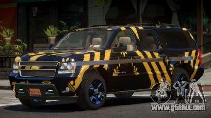 Chevrolet Suburban E-Style PJ3 for GTA 4
