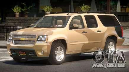 Chevrolet Suburban V2.1 PJ3 for GTA 4