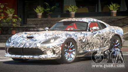 Dodge Viper GTS R-Tuned PJ4 for GTA 4