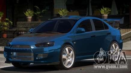 Mitsubishi Lancer X S-Tuned for GTA 4