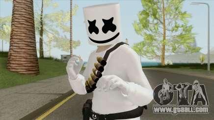 Marshmello V1 (GTA Online) for GTA San Andreas