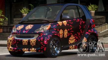 Smart ForTwo RS PJ4 for GTA 4