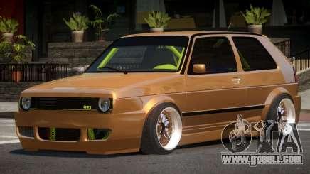 Volkswagen Golf 2 LT for GTA 4
