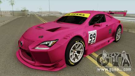 Lexus RC-F GT3 (RHA) for GTA San Andreas