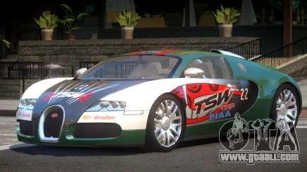 Bugatti Veyron DTI PJ7 for GTA 4