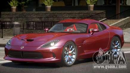 Dodge Viper GTS R-Tuned for GTA 4