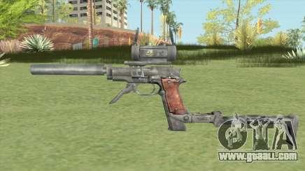 Beretta M93R Custom for GTA San Andreas