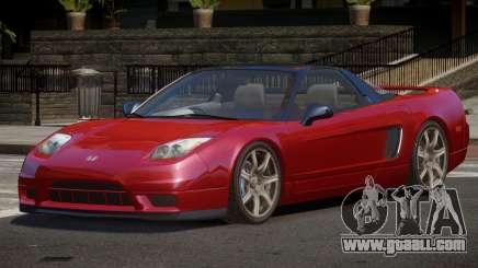 Honda NSX V2 for GTA 4