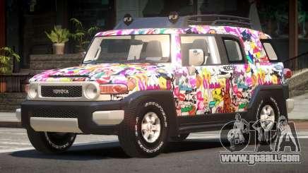 Toyota FJ Cruiser ST PJ6 for GTA 4