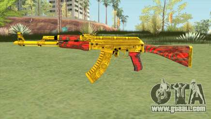 AKM (Gold Cartel) V2 for GTA San Andreas