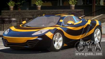 McLaren MP4-12C GT PJ5 for GTA 4