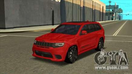 Jeep Grand Cherokee Trackhawk 2018 for GTA San Andreas