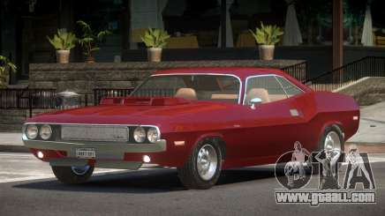 Dodge Challenger SR for GTA 4