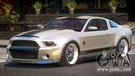 Shelby GT500 SR for GTA 4