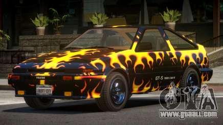 Toyota AE86 GT-S Hatchback PJ3 for GTA 4