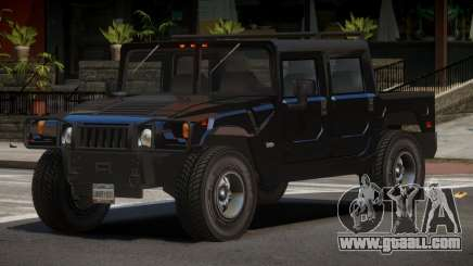 Hummer H1 PU for GTA 4
