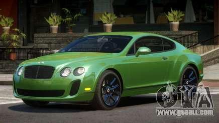 Bentley Continental S-Edit for GTA 4