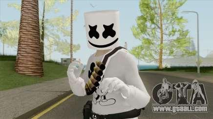 Marshmello V3 (GTA Online) for GTA San Andreas