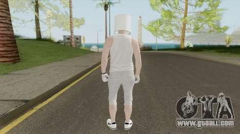 Marshmello V4 (GTA Online) for GTA San Andreas