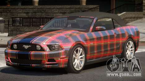 Ford Mustang GT CDI PJ5 for GTA 4