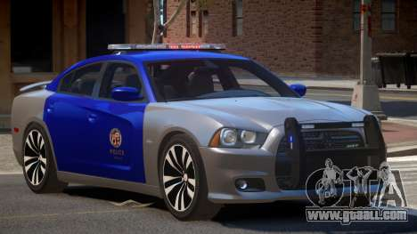 Dodge Charger TDI Police for GTA 4