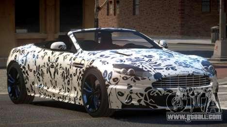 Aston Martin DBS Volante PJ5 for GTA 4