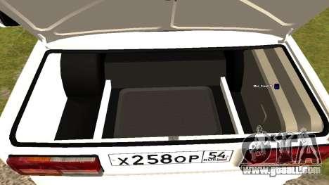 VAZ 2107 Tuning Kolkhoz for GTA San Andreas
