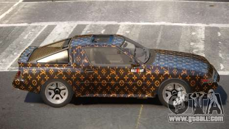 Mitsubishi Starion SR PJ1 for GTA 4