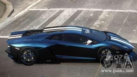 Lamborghini Aventador JRV PJ3 for GTA 4